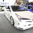 【東京オートサロン 2017】プリウスもスポーツカーに…ROWENの美意識