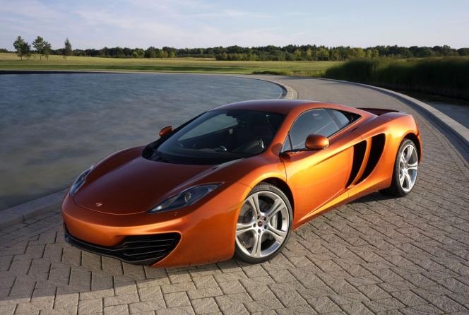 McLaren 12C Orange