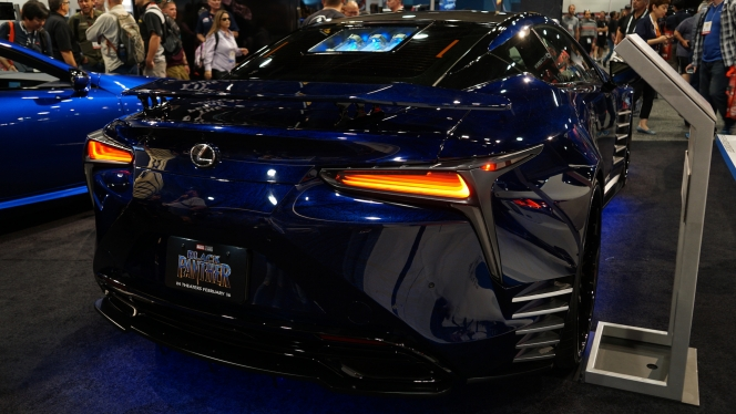 SEMA2017 BLACK PANTHER INSPIRED LC