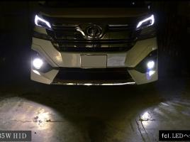 LEDとHIDを徹底比較!どっちがいいの?
