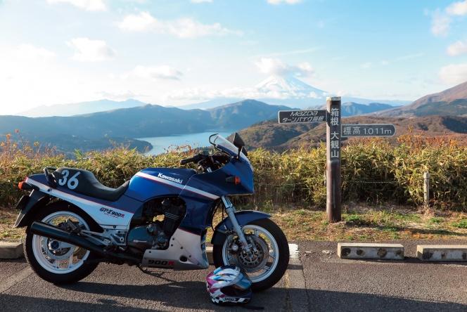 アヘッド カワサキ GPz900R