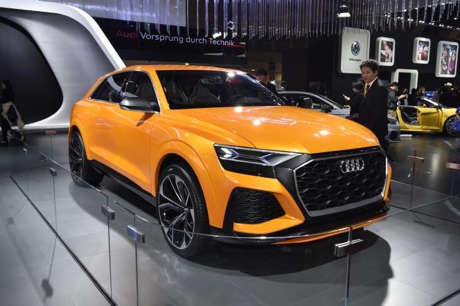 【東京モーターショー2017】アウディ Q8 sport concept