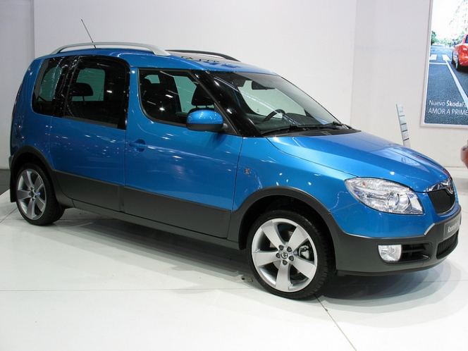 Skoda Roomster Scout TDi 2008