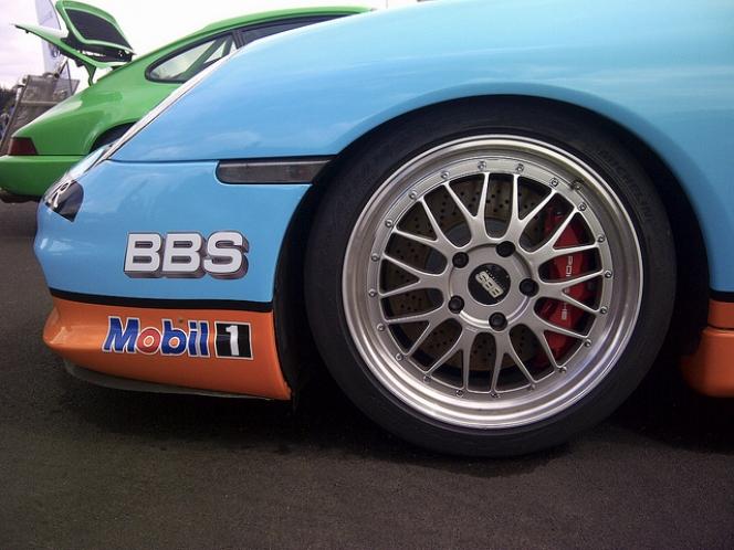 Porsche 996 BBS