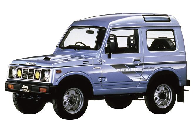 スズキ ジムニー(JA71)1986