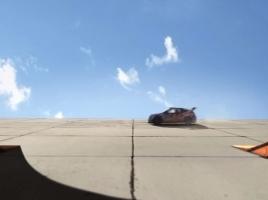 これぞ神テク!ドリフトターン360度一回転を美しく決めた!【動画】