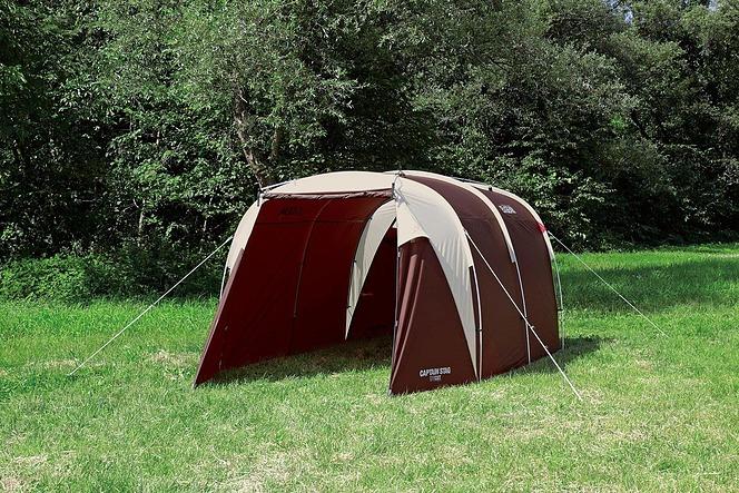 キャプテンスタッグ(CAPTAIN STAG) キャンプ テント エクスギア シェルター ワンルーム ドーム [5-6人