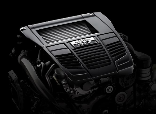 2.0リッター 水平対向4気筒エンジン(スバル WRX)
