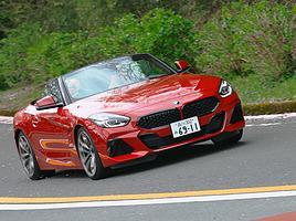 およそ2年ぶりに復活を遂げた、新型 BMW Z4。その走りとインターフェースに迫る