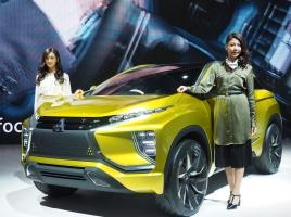 【東京モーターショー速報】ワールドプレミアのコンパクトSUV『MITSUBISHI eX Concept』は次世代EVシステムを採用!
