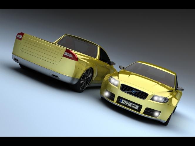 2009ボルボV70 Pickup