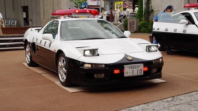 ホンダ NSXパトカー