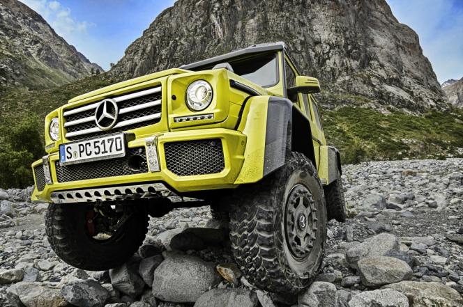 メルセデス・ベンツG 500 4x4² Showcar