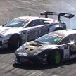 レクサス LFAとランボルギーニ ムルシエラゴのドリフト対決…両車に施されたカスタムは...