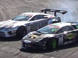 レクサス LFAとランボルギーニ ムルシエラゴのドリフト対決…両車に施されたカスタムは?