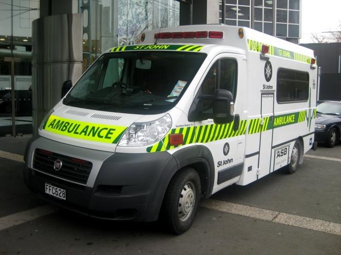ニュージーランドの救急車
