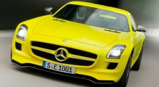 Mercedes SLS AMG E-Cell①