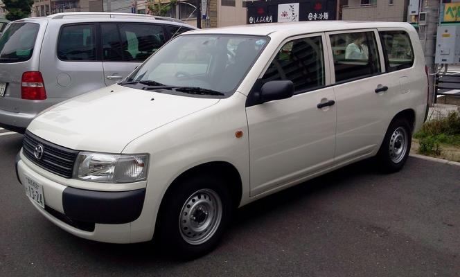 トヨタ・プロボックス(50系)