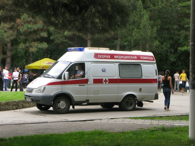 ロシアの救急車