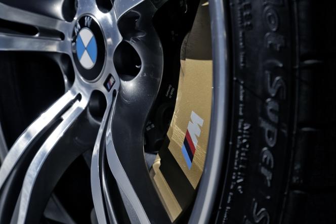 BMW M6GC brake