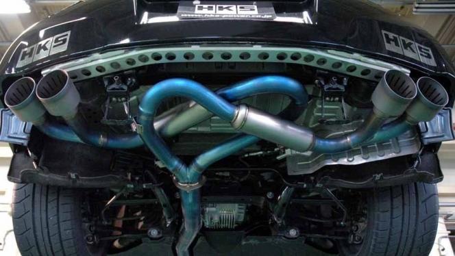 GT-R EXhaust
