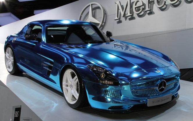 Mercedes Benz SLS AMG (メルセデス・ベンツ SLS AMG)2