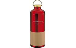 パール金属 アルミ 湯たんぽ ボトル型 900ml レッド モカ MK-2214