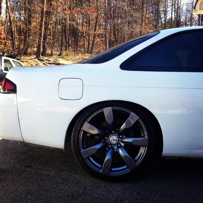 R35 GT-R wheel