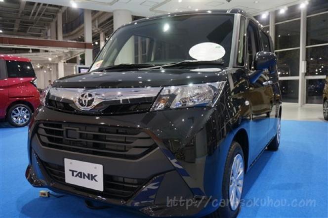 トヨタ タンク 2016