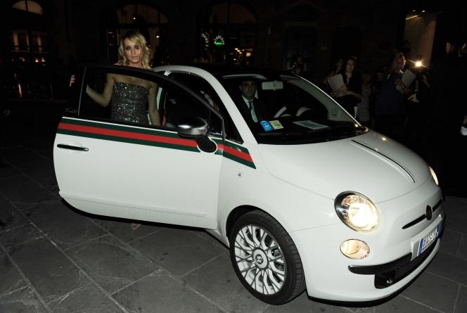 フィアット 500C by Gucci