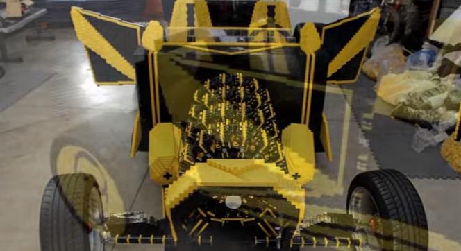 LEGOの車