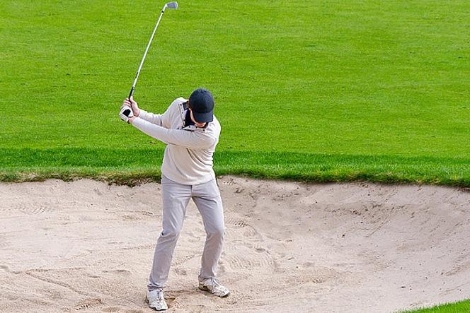 ゴルフ バンカーショット