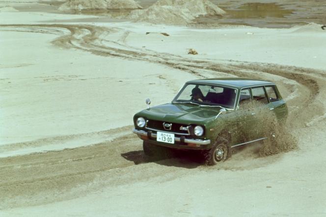 1972 レオーネ 4WDエステートバン