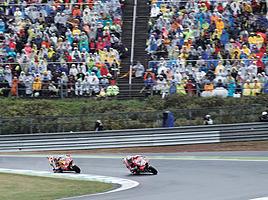 雨でも9万人近くが集まる MotoGP日本グランプリ