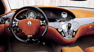 Maserati Buran 2000年モデル インテリア