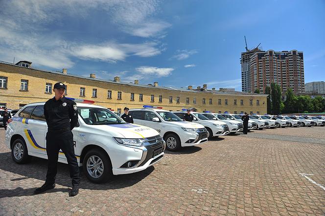 ウクライナパトカー