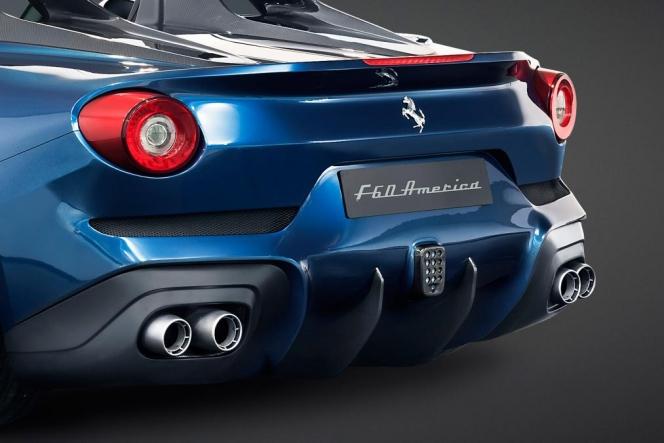 フェラーリ F60 アメリカ tail