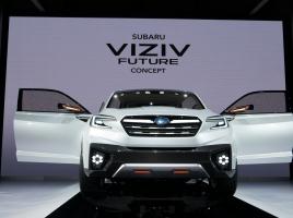 スバル、モーターショーにて2種類のコンセプトカーを世界初公開!次期インプレッサはどうなるのか?