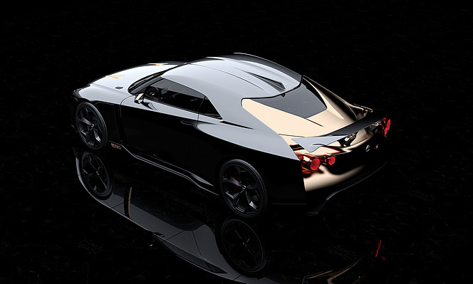 アヘッド 日産GT-R50 by イタルデザイン