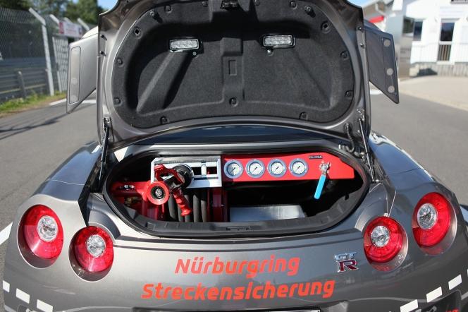 日産 GT-R 消防車仕様