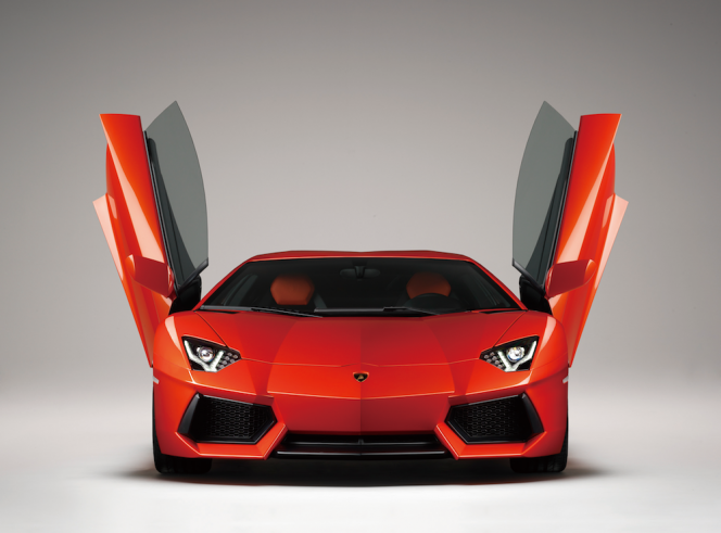 アヘッド Lamborghini Aventador LP700-4