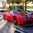 この瞬間が最も嬉しい!?約3000万円のフェラーリが家にやって来た!