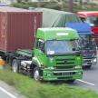 大型トラックの高度な運転技術集