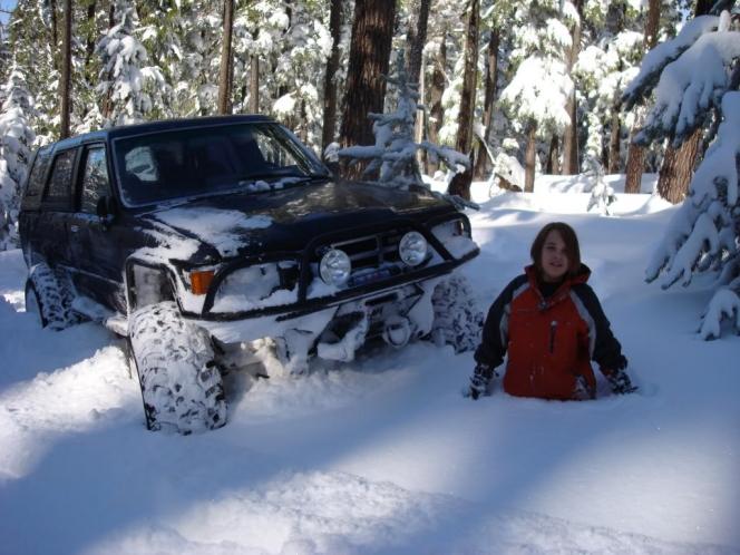 トヨタ車5 雪