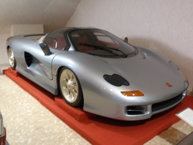 Motorcar Museum of Japan  Jiotto Caspita, a prototype superc