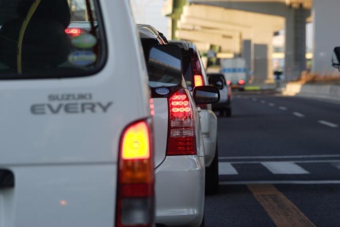 渋滞(足成より)