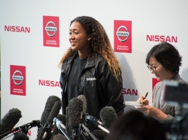 大坂なおみ選手が、日産アンバサダーに!自動車メーカーのアンバサダーに就いた日本人スポーツ選手たち