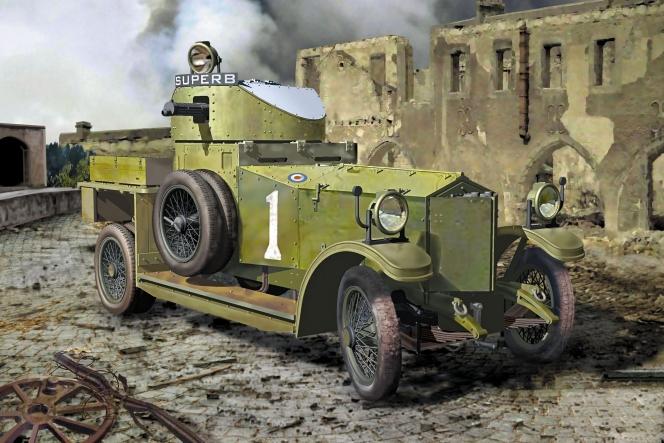 ロールスロイス 装甲車