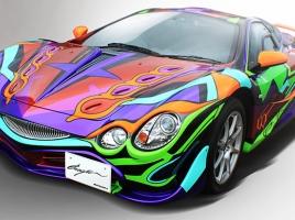 世界に1つだけのエヴァンゲリオン×オロチの独創的な車がコレ!