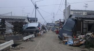東日本大震災(撮影:横山大輔本人)